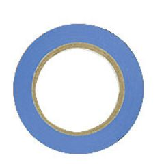 Ruban adhésif - PVC - 15 mm x 10 m - bleu