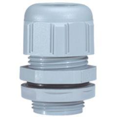 Presse-étoupe à entrées multiples plast - IP 66 - ISO 25 - RAL 7001
