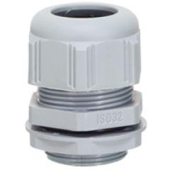 Presse-étoupe à entrées multiples plast - IP 66 - ISO 32 - RAL 7001