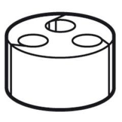 Joint à entrées multiples - pour PE ISO 20 ou PG 13,5
