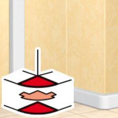 Angle extérieur 60 à 120° - DLP mono 50x105 couv l. 65 et 50x195 - blanc
