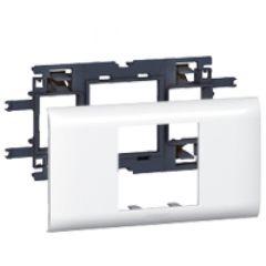 Support Prog Mosaic - pour DLP couv 65 mm - 2 modules