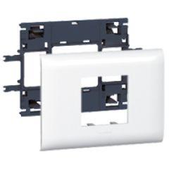 Support Prog Mosaic - pour DLP couv 85 mm - 2 modules