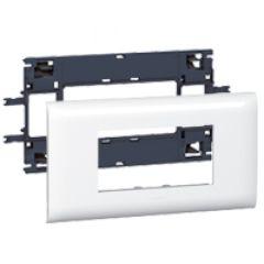 Support Prog Mosaic - pour DLP couv 85 mm - 4 modules