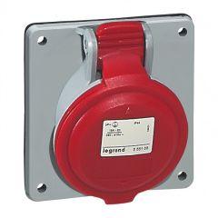 Prise à entraxes unifiés P17 - 380/415 V~ - 32 A - 3P+T - IP 44