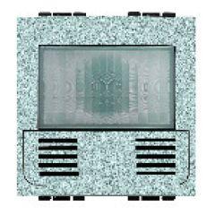 Détecteur de mouvements/luminosité + poussoir Livinglight MyHOME BUS - tech