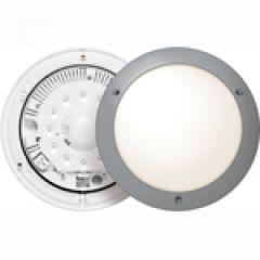 Hublot  Chartres - IP54-IK04 -Détection+préavis+veille LED 4000 K-T1-Gris métal