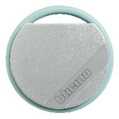 Badge de proximité résidents 13,56 MHz (lecture/écriture) - couleur gris