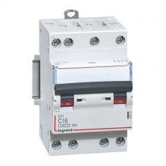 Disjoncteur DX³ 4500 - vis/vis - 4P - 400 V~ - 16A - 6kA - courbe C - 3M