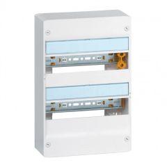 Coffret Drivia 13 modules - 2 rangées - IP30 - IK05 - Blanc RAL 9003
