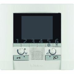 Poste intérieur mains libres Polyx vidéo BUS 2 fils