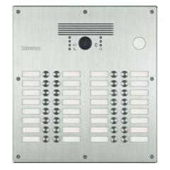 Platines monobloc antivandales à  BP Linea 300 - 21 à 32 appels - façade Inox