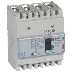 Disj puissance DPX³ 160 - magnéto-thermique - 36 kA - 4P - 100 A