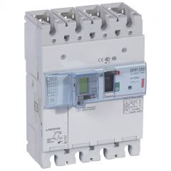 Disj puissance DPX³ 250 - électro diff à unité de mesure - 36 kA - 4P - 100 A