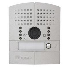 Platine de rue Linea 2000 métal vidéo couleur encastrée - 1 BP