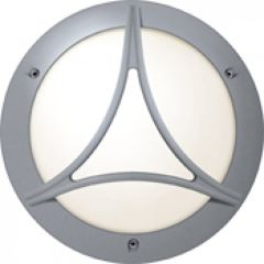 Hublot Chartres rond jupe a grille taille 1 gris G24Q2 / 18W