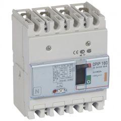 Disj puissance DPX³ 160 - magnéto-thermique - 25 kA - 4P - 80 A
