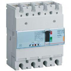 Disj puissance DPX³ 250 - magnéto-thermique - 25 kA - 4P - 100 A
