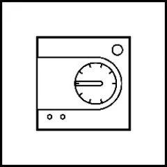 Thermostat sonde Art d'Arnould Epure MyHOME BUS - acier miroir