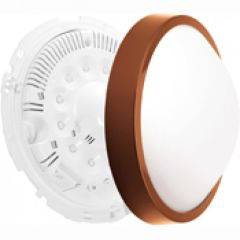 Luminaire Oleron déco taille 2 cuivre 18 leds 6500k détection+préavis+veille
