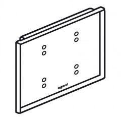 Commande tactile KNX Céliane - 4 touches - Verre Kaolin