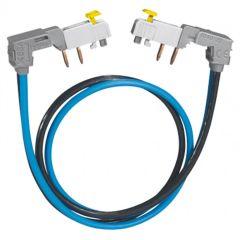 Cordon de repiquage à connexion auto - section 2x10 mm² - 63 A