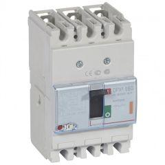 Disj puissance DPX³ 160 - magnéto-thermique - 25 kA - 3P - 160 A