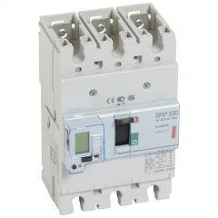 Disj puissance DPX³ 250 - électronique à unité de mesure - 36 kA - 3P - 250 A