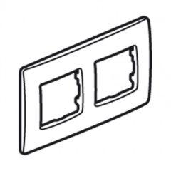 Plaque 2 postes Niloé - Lin