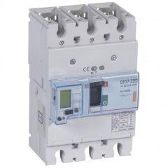Disj puissance DPX³ 250 - électronique à unité de mesure - 25 kA - 3P - 160 A