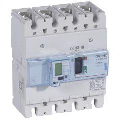Disj puissance DPX³ 250 - électronique à unité de mesure - 70 kA - 4P - 160 A