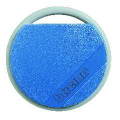 Badge de proximité résidents 13,56 MHz (lecture/écriture) - couleur bleu.