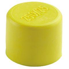 Bouchon jaune pour conduits Arnould - Ø63 mm