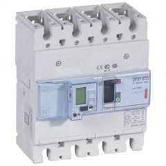 Disj puissance DPX³ 250 - électronique à unité de mesure - 36 kA - 4P - 100 A