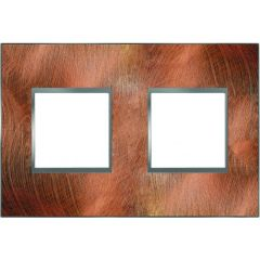 Plaque Espace Evolution - Matières - 2 postes - Cuivre rotobrossé