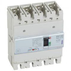 Disj puissance DPX³ 250 - magnéto-thermique - 50 kA - 4P - 100 A