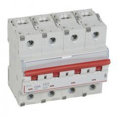Inter-sectionneur de tête DX³-IS -vis/vis- à déclenchement- 4P -400 V~- 125A -6M
