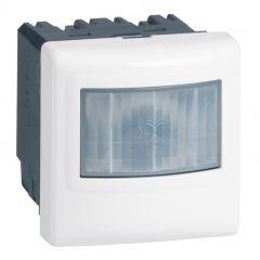 Inter détecteur de mouvements Prog. Mosaic - ECO 1 - 3 fils - 2000 W - blanc