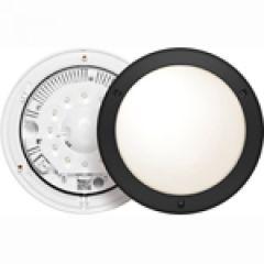 Hublot  Chartres - IP55-IK10 - Détection+préavis+veille LED 6500 K - T1-Noir