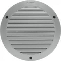 Luminaire Kalank rond avec grille taille 2 gris argent G24Q2 / 18W