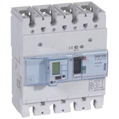 Disj puissance DPX³ 250 - électronique à unité de mesure - 50 kA - 4P - 100 A