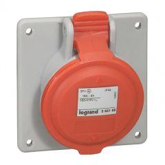 Prise à entraxes unifiés P17 - 380/415 V~ - 16 A - 3P+T - IP 44