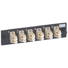 Bloc fibre optique LC - 12 fibres multimode - pr tiroir optique réf. 32569-LCS²