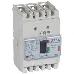 Disj puissance DPX³ 160 - magnéto-thermique - 36 kA - 3P - 16 A