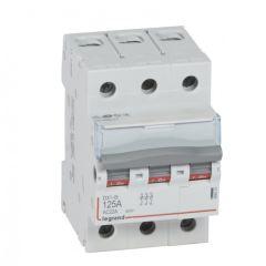 Inter-sectionneur de tête DX³-IS - vis/vis - 3P - 400 V~ - 125 A - 3 M