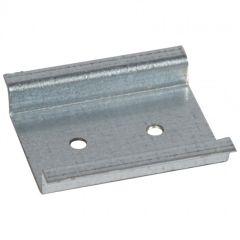 Rail format DIN pour 2 modules 17,5 mm
