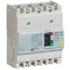 Disj puissance DPX³ 160 - magnéto-thermique - 16 kA - 4P - 125 A