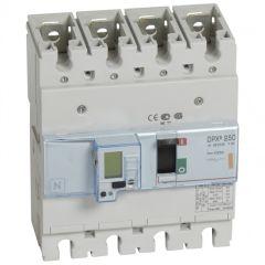 Disj puissance DPX³ 250 - électronique - 25 kA - 4P - 100 A