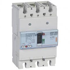 Disj puissance DPX³ 250 - magnéto-thermique - 25 kA - 3P - 160 A