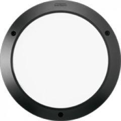 Hublot Kalank rond alu antivandale taille 2 noir G24Q2 / 18W